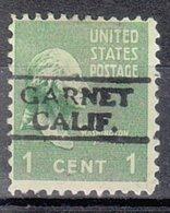 USA Precancel Vorausentwertung Preo, Locals California, Garnet 728, PSS 50 $ Type - Préoblitérés