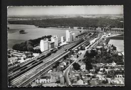 Verneuil L'Étang - Gare & Moulins - Près De Nangis Et Provins - Vue Aérienne Photo Véritable CPSM Seine Et Marne - Nangis