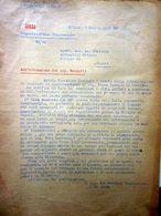 """Lettera Commerciale """"SOCIETA' ITALIANA  ANOMIMA ITALIANA AUTOMOBILI CITROEN Milano"""" 2 Luglio 1931 - Italie"""
