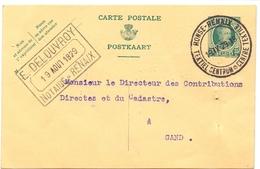 Brief Lettre - Briefkaart Notaris Delouvroy - Renaix Ronse - Naar Kadaster 1929 - Non Classés