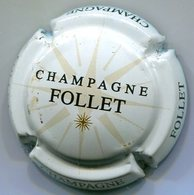 CJ-CAPSULE-CHAMPAGNE FOLLET N°01 Fond Blanc - Champagne