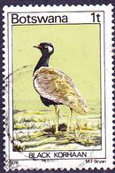 Botswana - Gackeltrappe (Afrotis Atra) (Mi.Nr.: 198) 1978 - Gest Used Obl - Botswana (1966-...)