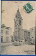 POMPEY   L'église     Animées  écrite En 1907 - France
