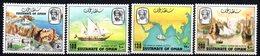 Serie Nº 199/202  Oman - Omán
