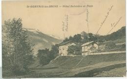 Saint-Gervais-les-Bains; Hôtel Belvédère Et Platé - Non Voyagé. - Saint-Gervais-les-Bains