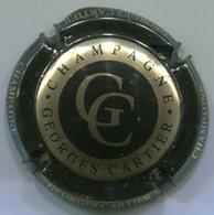 CJ-CAPSULE-CHAMPAGNE CARTIER Georges N°03 Noir & Or - Autres