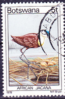 Botswana - Karminspint (Merops Nubicoides) (Mi.Nr.: 202) 1978 - Gest Used Obl - Botswana (1966-...)