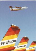 CP AVION DE HAVILLAND DASH 7 TYROLEAN AIRWAYS OE-LLP - 1946-....: Moderne