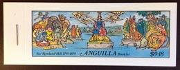 Anguilla 1979 Rowland Hill Stamp Booklet Unused MNH - Anguilla (1968-...)