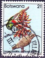 Botswana - Ringelnektarvogel (Nectarinia Mediocris) (Mi.Nr.: 300) 1982 - Gest Used Obl - Botswana (1966-...)