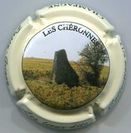 CAPSULE-CHAMPAGNE PASSY GRIGNY N°14e LES CHERONNES Contour Crème - Autres