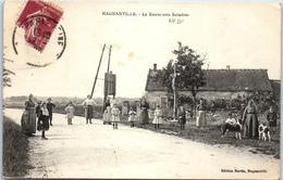 78 MAGNANVILLE - La Route Vers Soindres - Magnanville