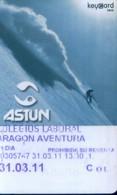 Spain Cable Car Cards,  Astun (1pcs) - Spain