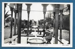 MAROC TETUAN TETOUAN JARDIN DEL AMOR UNUSED - Marocco
