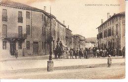 ITALIA - SAMBONIFACIO - Via Minghetti, Ben Animata, Posta Mil. Verif. X Censura 1917 - 2019-209 - Italia