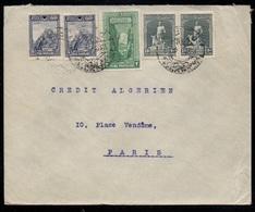 TURQUIE - TURKEY - STAMBOUL / 1920 LETTRE POUR PARIS (ref LE3101) - Covers & Documents