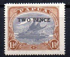 Sello  Nº 75  Papua - Papúa Nueva Guinea