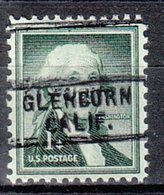 USA Precancel Vorausentwertung Preo, Locals California, Glenburn 729 - Préoblitérés