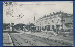 VILLENEUVE-SAINT-GEORGES    La Gare    Animées          écrite En 1910 - Villeneuve Saint Georges