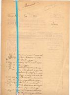 Brief Lettre - Minuut Kadaster Renaix Ronse - 1928 - Non Classés