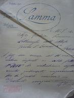 """Lettera Commerciale """"LAMMA CONFEZIONI PER SIGNORA BOLOGNA"""" 15 Luglio 1920 - Italia"""