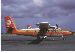 CP AVION DE HAVILLAND DHC 6 TWIN OTTER 300 F-OGIZ AT POINTE A PITRE 1988 - 1946-....: Moderne