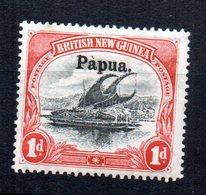 Sello  Nº 10   Papua - Papúa Nueva Guinea