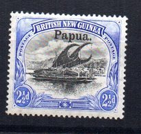 Sello  Nº 12   Papua - Papúa Nueva Guinea