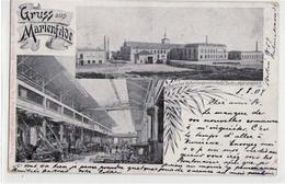 39043783 - Berlin Tempelhof Mit 2 Abbildungen Der Daimler Motorengesellschaft Gelaufen Von 1904 Kleiner Knick Mit Einri - Germany