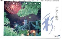 Feu D'artifice Télécarte Japon  Phonecard  (G 67) - Paysages