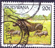 Botswana - Warzenschwein (Phacochoerus Aethiopicus) (Mi.Nr.: 524) 1992 - Gest Used Obl - Botswana (1966-...)