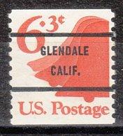 USA Precancel Vorausentwertung Preo, Bureau California, Glendale 1518-71 - Préoblitérés
