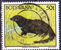 Botswana - Sumpfmanguste (Atilax Paludinosus) (Mi.Nr.: 529) 1992 - Gest Used Obl - Botswana (1966-...)