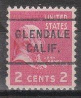 USA Precancel Vorausentwertung Preo, Locals California, Glendale 255 - Préoblitérés