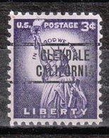USA Precancel Vorausentwertung Preo, Locals California, Glendale 263 - Préoblitérés