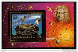 GUINEA 1986 SPACE GOLD MNH MI. BL. 219 - Space