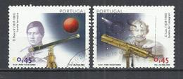 PORTUGAL 2002 - ASTRONOMY - TELESCOPE - POSTALLY USED OBLITERE GESTEMPELT USADO - Astronomie