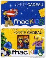 @+ Carte Cadeau - Gift Card : Lot De 2 Cartes FNAC (lot 2) - Lego - Carta Di Fedeltà E Regalo