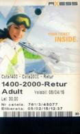 Romania Cable Car Cards,  (1pcs) - Romania