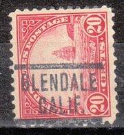 USA Precancel Vorausentwertung Preo, Locals California, Glendale 567-549 - Préoblitérés