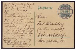 Dt- Reich (007521) Kolonie-Ostafrika Postkarte Ganzsache Gelaufen Sauber Gestempelt Daressalam Am 26.7.1912 - Kolonie: Deutsch-Ostafrika