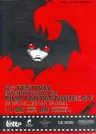ROSINSKI : Programme Festival Film Fantastique De BRUXELLES 1988 - Books, Magazines, Comics