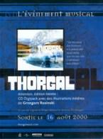 ROSINSKI : Flyer Pour CD THORGAL - Thorgal