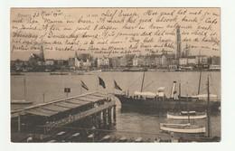 Antwerpen Schelde La Rade 1905 Anvers Panorama Stad - Antwerpen