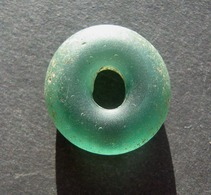 Ancient Viking Big Glass Bead 9-12 Century - Archéologie