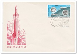 DDR 1963, FDC, Space - FDC: Enveloppes