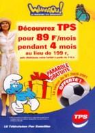 SCHTROUMPFS : Brochure Publicite TPS - Schtroumpfs, Les