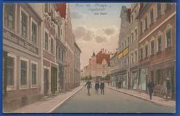 INGOLSTADT   Am Stein    Animées   écrite En 1915 - Ingolstadt