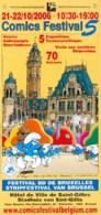 SCHTROUMPFS : Flyer COMMICSFESTIVAL 2006 - Schtroumpfs, Les