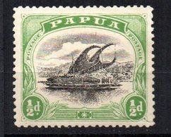 Sello  Nº 33  Papua - Papúa Nueva Guinea